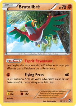 Carte Pokémon Brutalibré 63/111 de la série Poings Furieux en vente au meilleur prix
