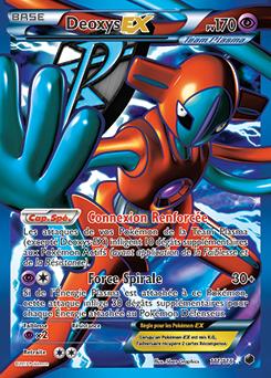 Carte Pokémon Deoxys 111/116 de la série Glaciation Plasma en vente au meilleur prix