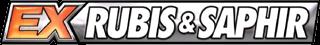 Cartes Pokémon Ex Rubis & Saphir en vente au meilleur prix